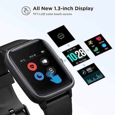 LETSCOM Smart Watch Fitness Tracker