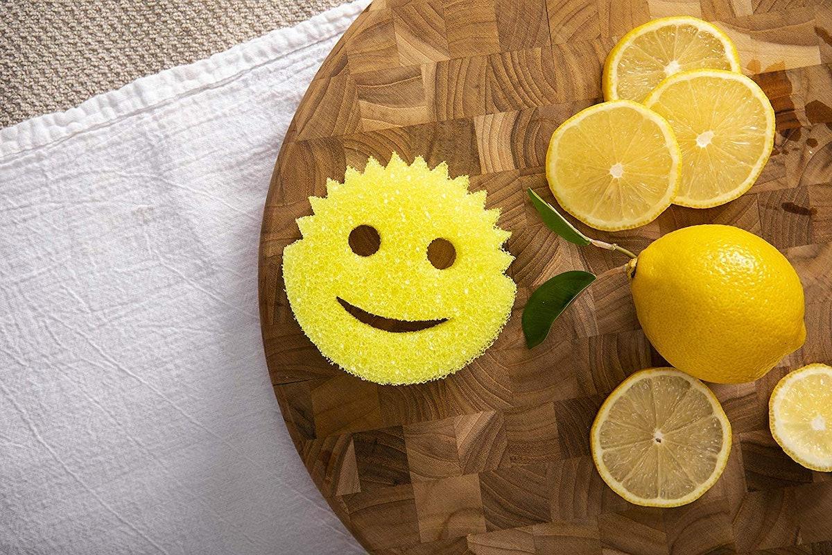 Scrub Daddy Lemon Fresh Scrubbers (2-Pack)