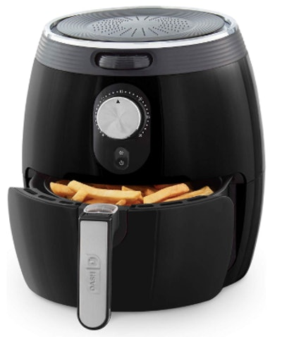 DASH Deluxe 3-Quart Electric Air Fryer + Oven Cooker