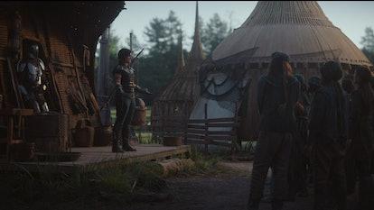Gina Carano plays Cara Dune on The Mandalorian.