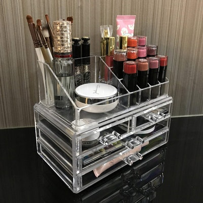 Ikee Design Acrylic Jewelry Makeup Cosmetic Storage