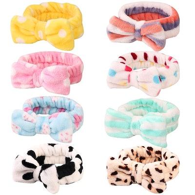 Fleece Spa Headband (8-Pack)