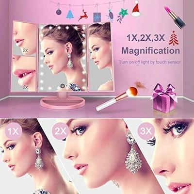 BESTOPE Makeup Vanity Mirror with Lights