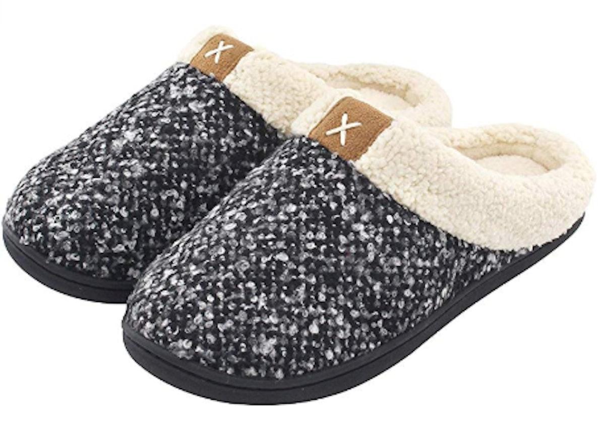 ULTRAIDEAS Women's Memory Foam Slippers (Sizes 5-12)