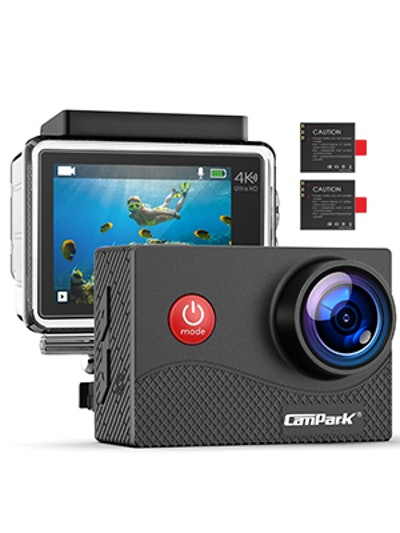 Campark Action Camera with Touch Screen