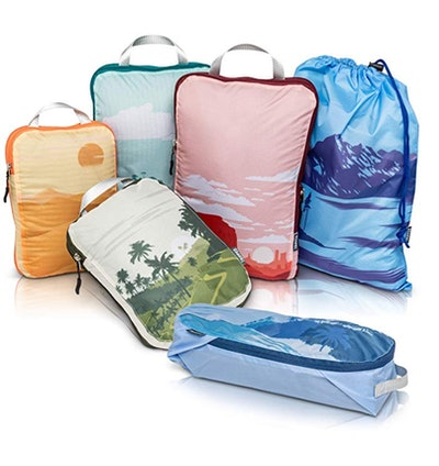 TRIPPED Travel Gear Compression Packing Cubes