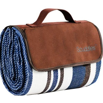 scuddles Outdoor Picnic Blanket Tote