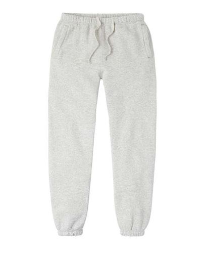 Cozy Brushed Sweatpants. Type C, Version 2. Grey Melange