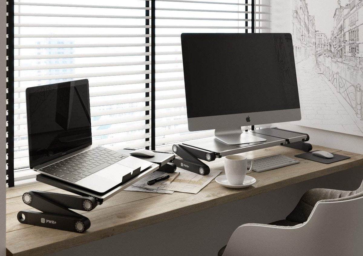 PWR+ Laptop Table Stand Adjustable Riser