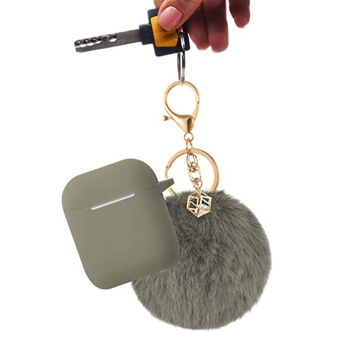 BlUEWIND Air Pods Protective Keychain Case