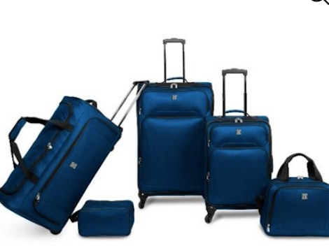 This five-piece luggage set is one of the many Cyber Monday deals available at Walmart this year.