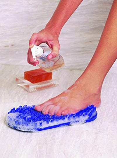 body & sole Soapy Soles Foot Scrubbing Pad & Massager