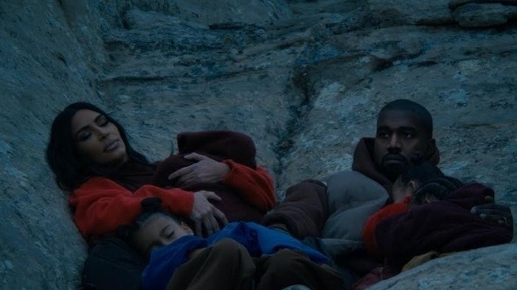 """Kanye West's """"Closed On Sunday"""" music video stars the Kardashians."""