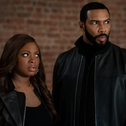 Naturi Naughton and Omari Hardwick as Tasha and Ghost in Power Season 6