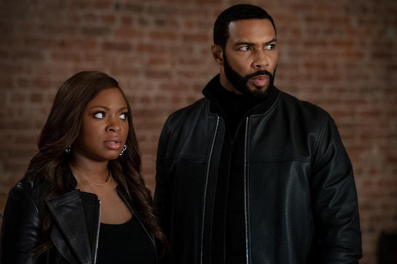 Naturi Naughton and Omari Hardwick as Tasha and Ghost in Power Season 6