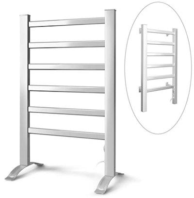 INNOKA 2-in-1 Freestanding & Wall Mounted Heated Towel Warmer