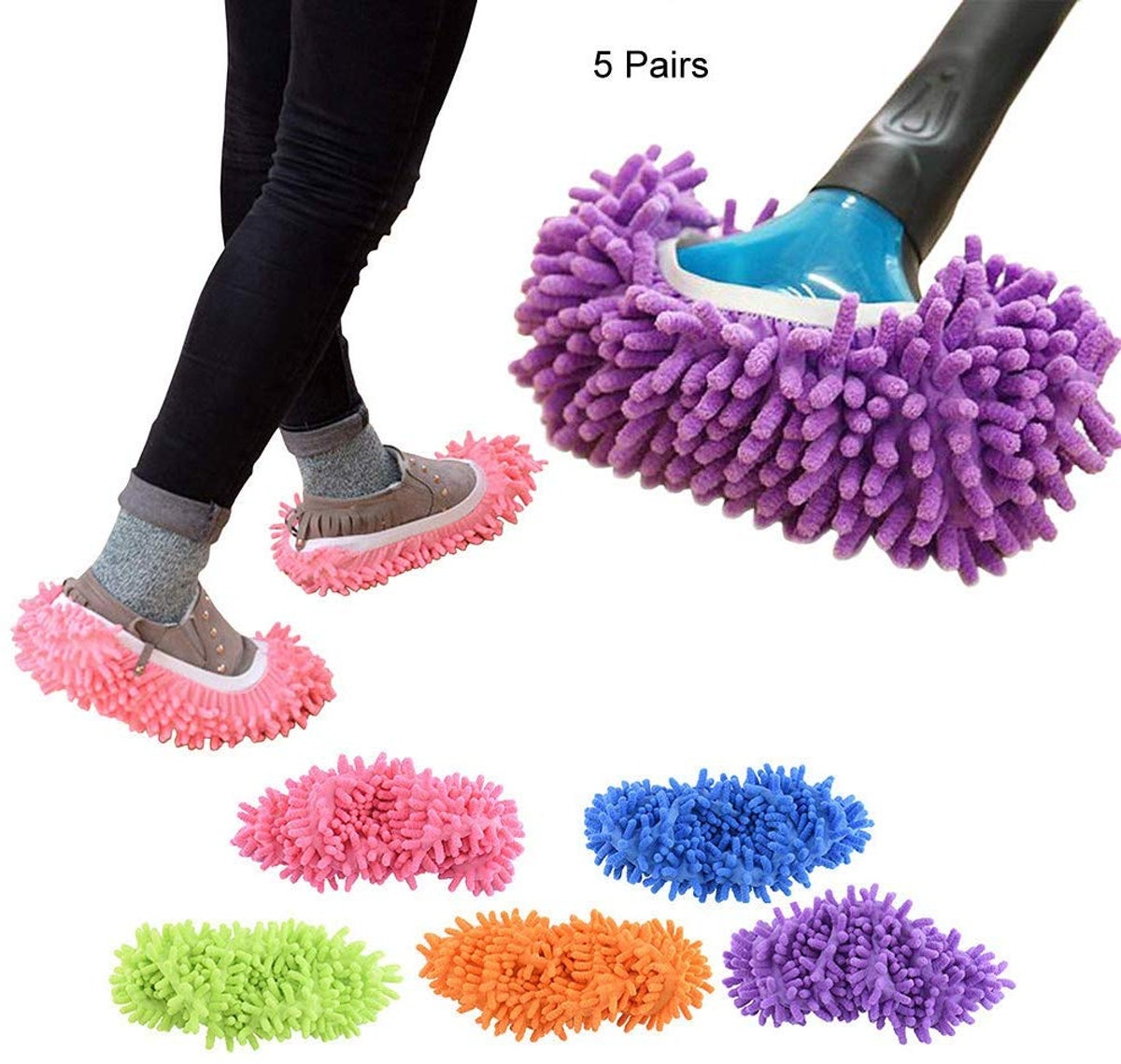 YINUOWEI Mop Slippers