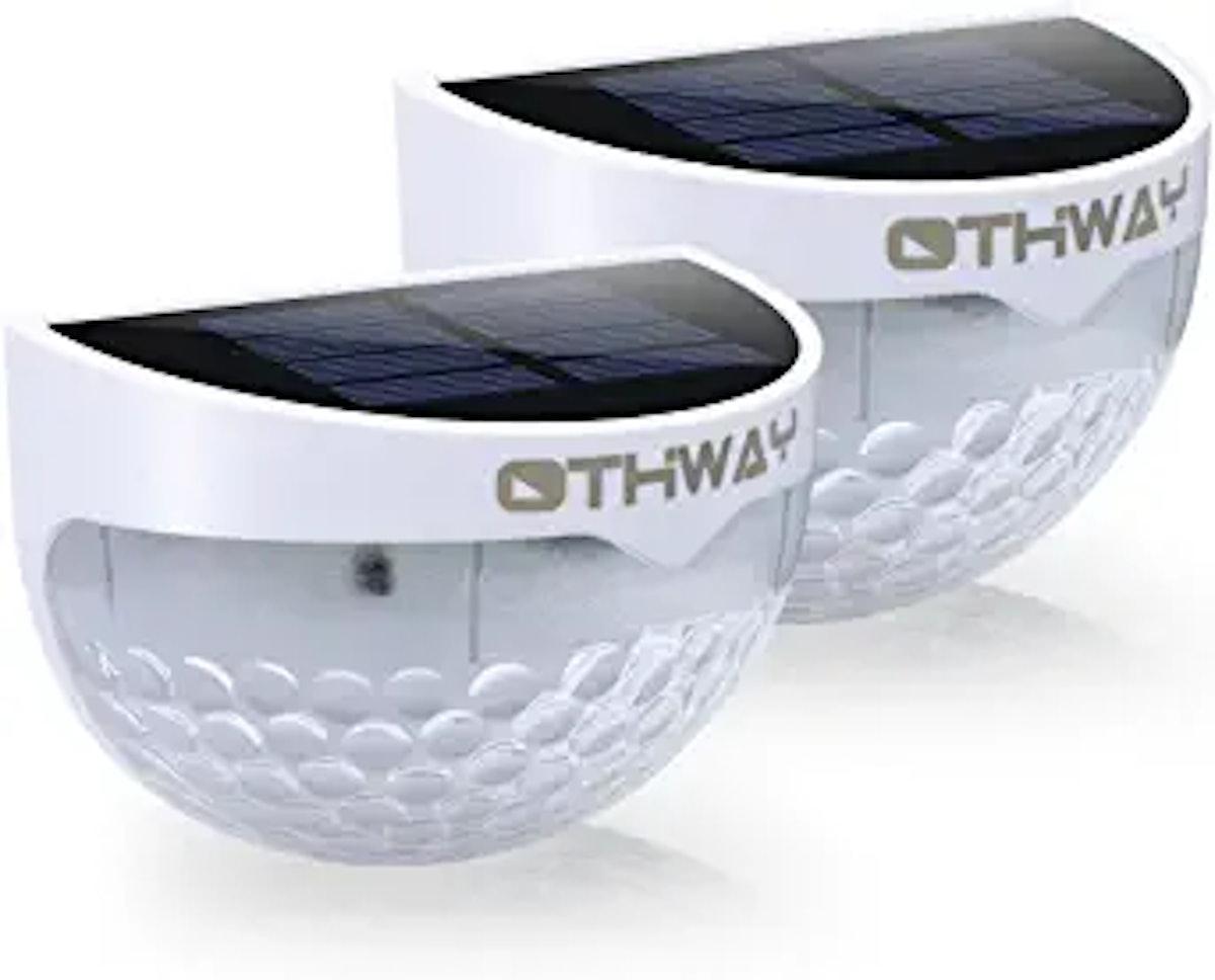 OTHWAY Solar Fence Post Lights