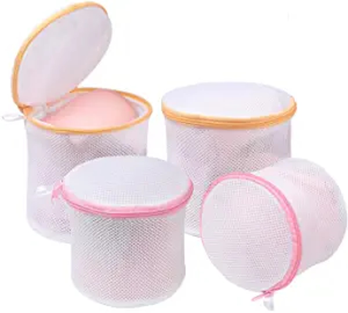 BAGAIL Laundry Bag Mesh Wash Bag (4-Piece Set)