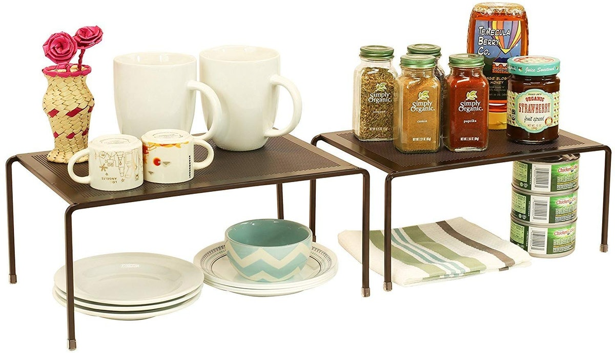 DecoBros Stackable Kitchen Cabinet Organizer