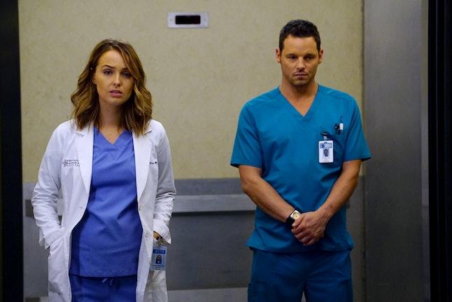 Jo and Alex Karev on 'Grey's Anatomy.'