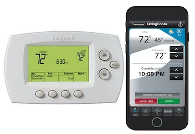 Honeywell Home Wi-Fi 7-Day Programmable Thermostat With Alexa