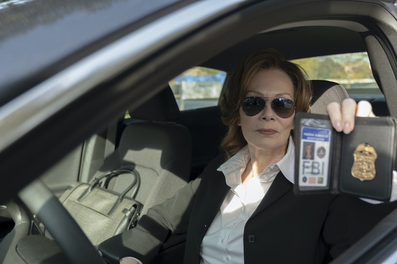 Jean Smart plays Laurie Blake, formerly known as Silk Spectre, on HBO's 'Watchmen'
