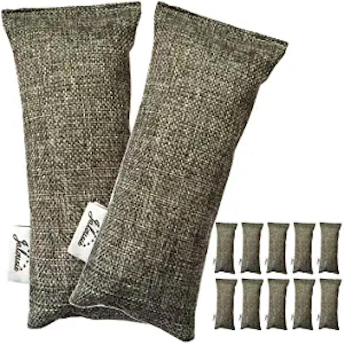 Jalousie Each Mini Bamboo Charcoal Bags (12-Pack)