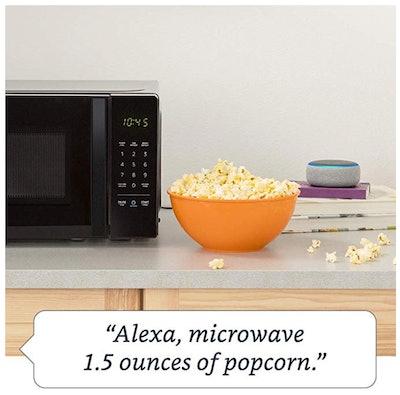 AmazonBasics Smart Microwave