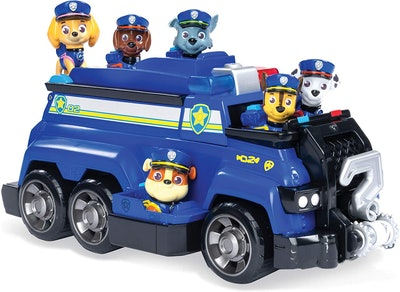 Chase's Total Team Rescue Police Cruiser Vehicle With 6 Pups
