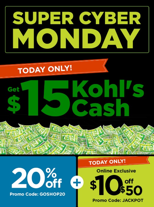 Kohl's Cyber Monday 2019 Sale Is Discounting Everything 20%, So Start Browsing.