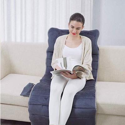 SNAILAX Memory Foam Massage Mat with Heat