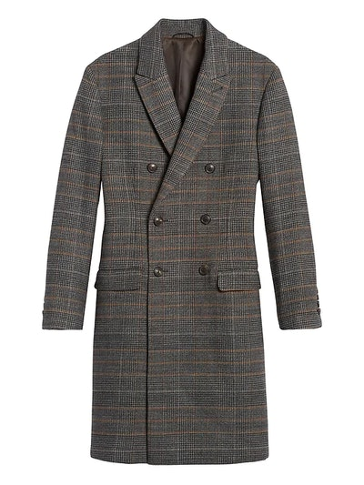 Heritage Plaid Double-Breasted Coat