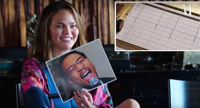 Chrissy Teigen & John Legend took a lie detector test together for 'Vanity Fair.'