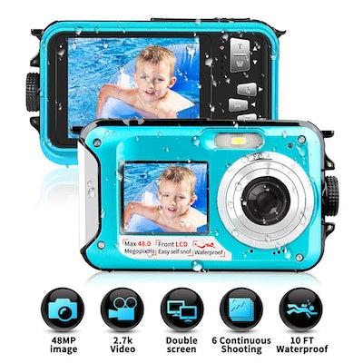 YINDIA Waterproof Camera