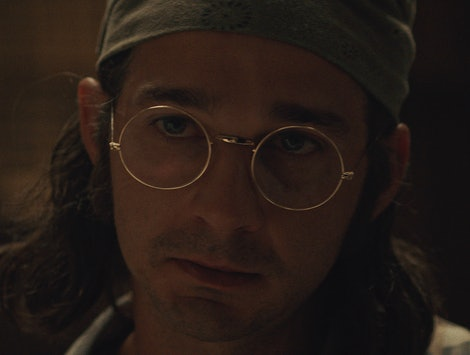 Shia LaBeouf as James Lort in Honey Boy