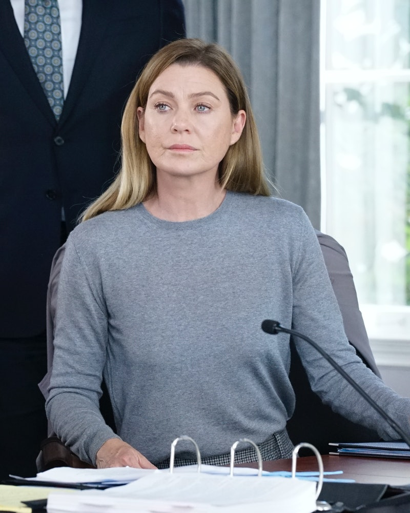 Meredith could be in danger on Grey's Anatomy.