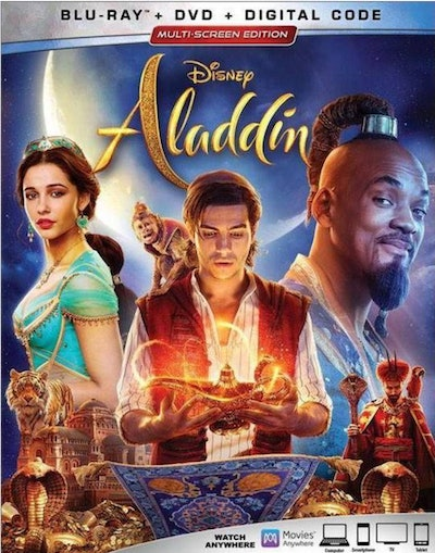Aladdin (Live Action) Blu-Ray+DVD+Digital