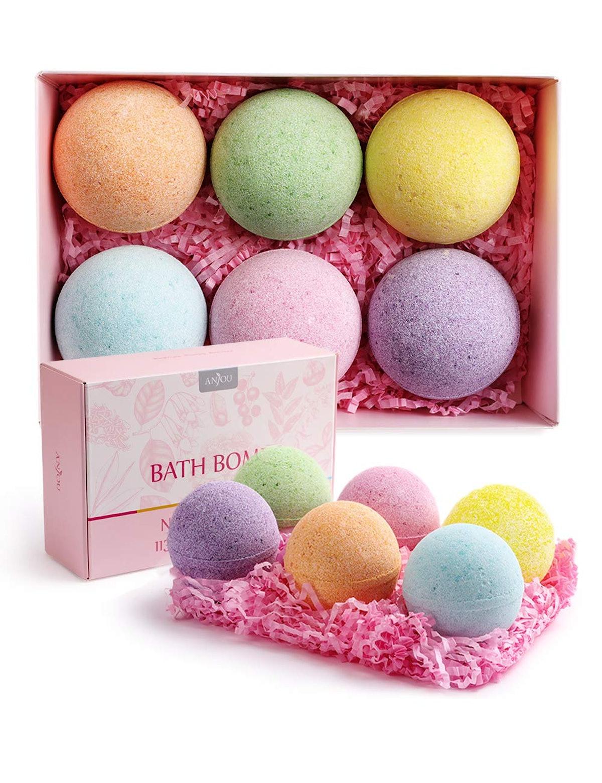 Anjou Bath Bombs Gift Set (6-Pack)