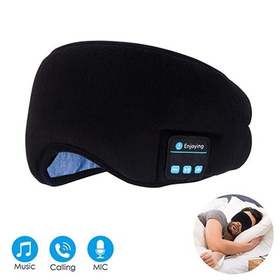 Topoint Bluetooth Sleep Eye Mask Wireless Headphones