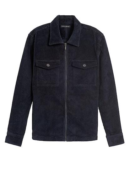 Slim Corduroy Shirt Jacket