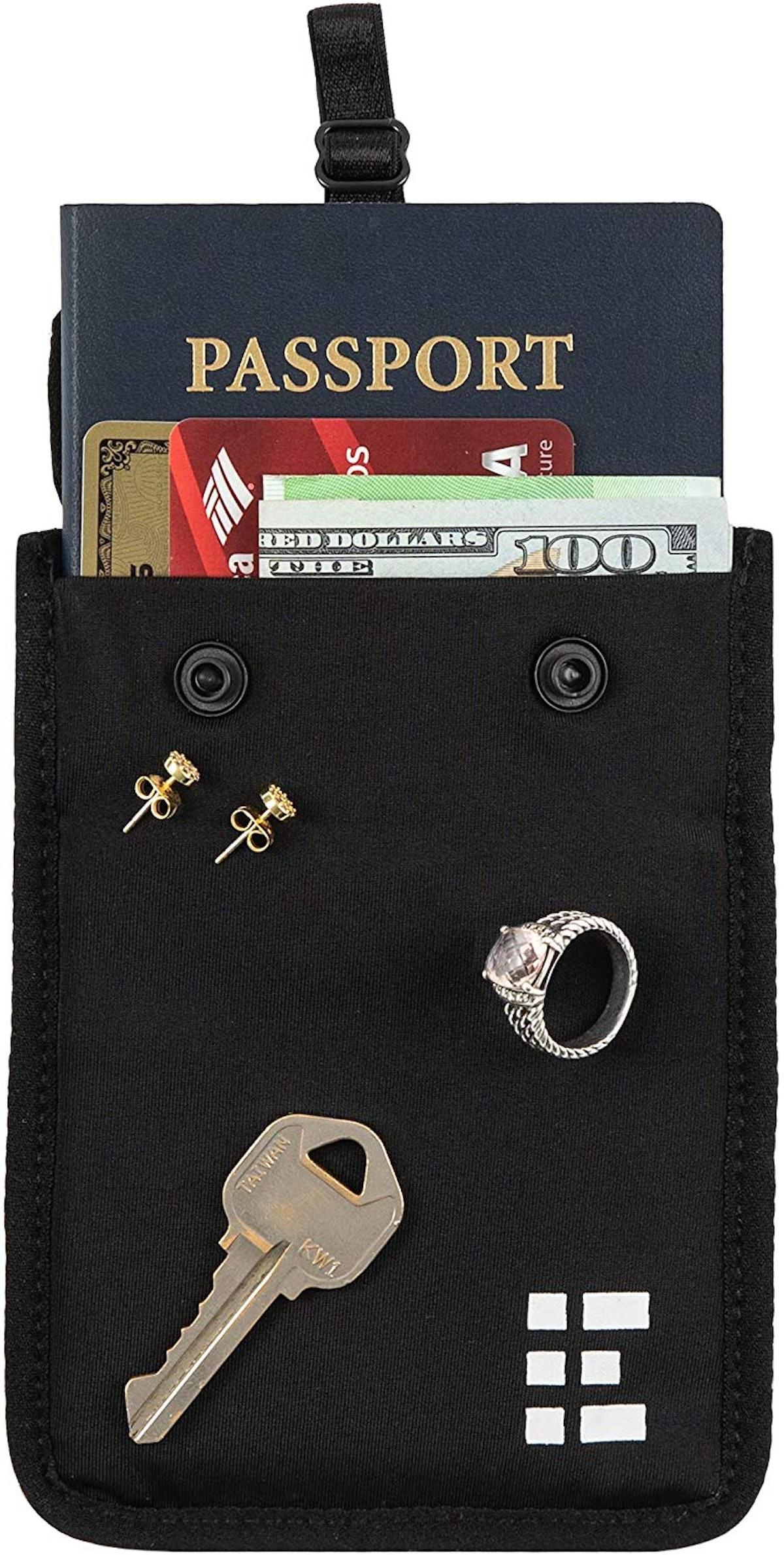Hidden Bra Wallet