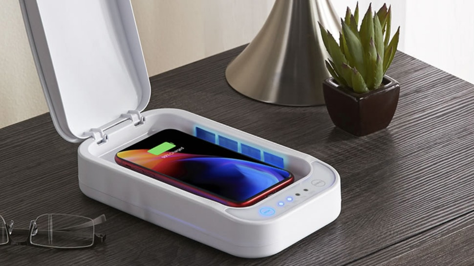 Hammacher Schlemmer is selling smartphone cleaners that sanitizer your phone in 10 minutes.
