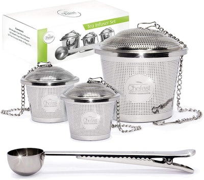 Tea Infuser Set by Chefast (3-Pack)
