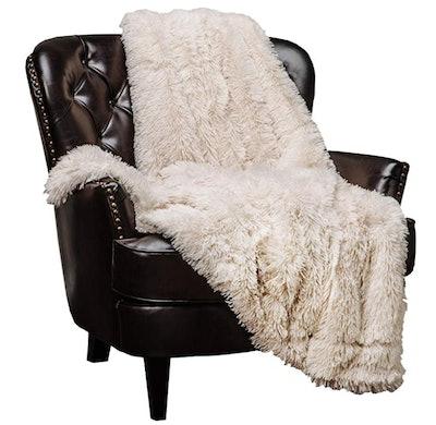 Chanasya Super Soft Shaggy Longfur Throw Blanket