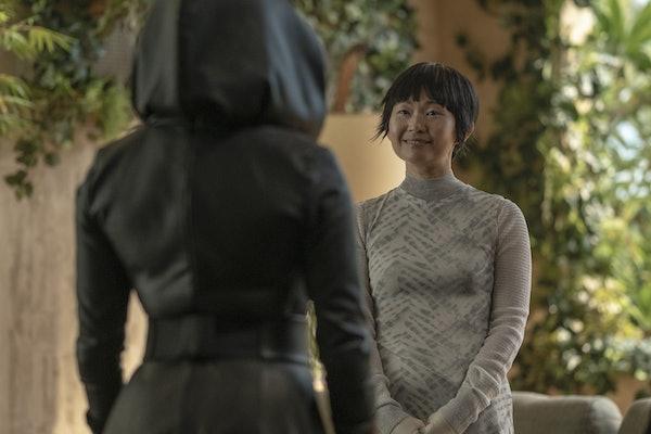 Hong Chau as Lady Trieu in HBO's Watchmen