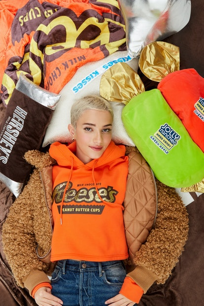 The Forever 21 x Hersey's collection is available now on the clothing brand's website.