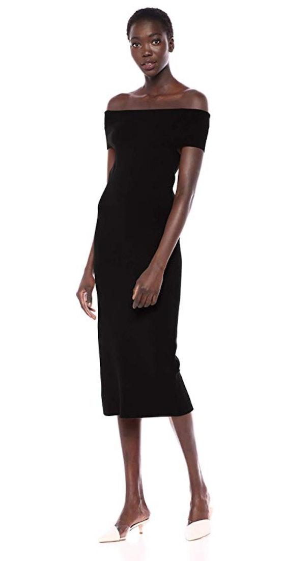 Lark & Ro Women's Off the Shoulder Sheath Dress