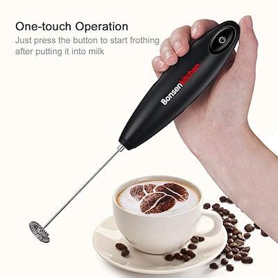Bonsenkitchen Handheld Milk Frother
