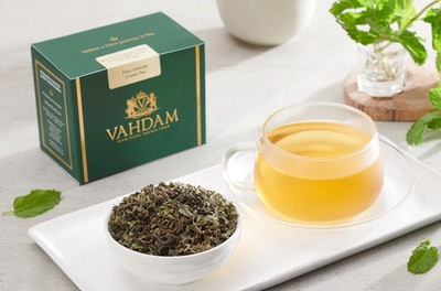 Vahdam Mint Melody Green Tea